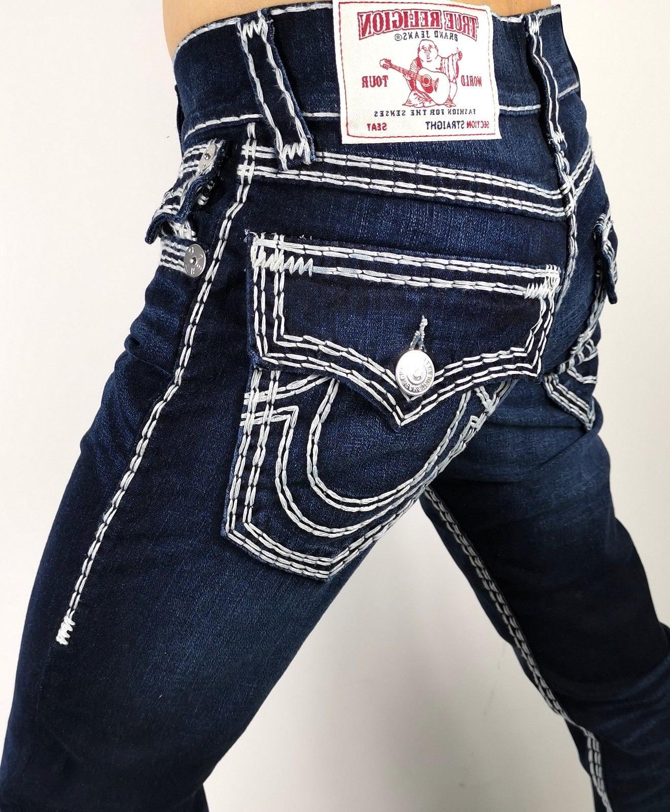 True Religion $349 Men's Hand Picked Straight Super QT Jeans