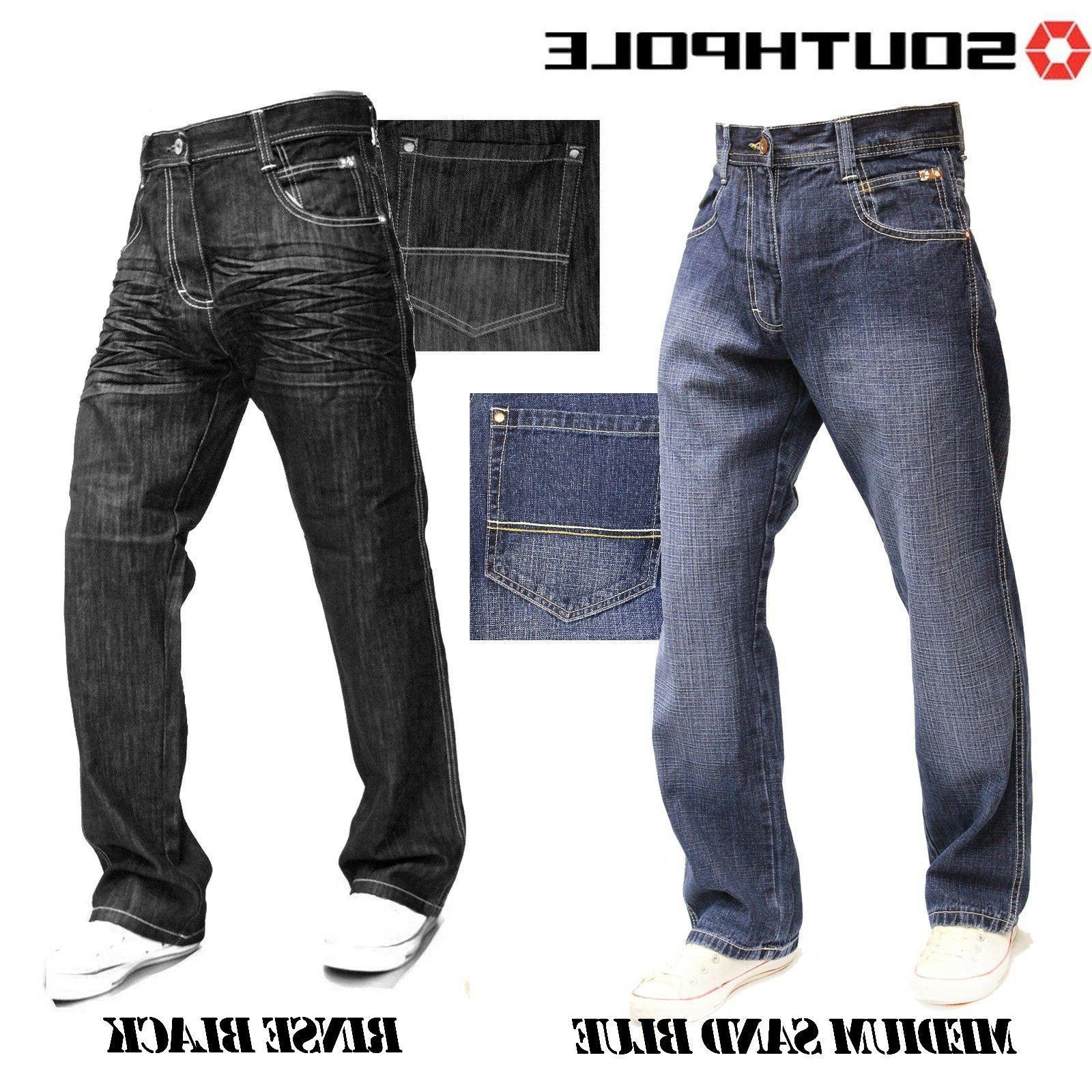 SOUTHPOLE 4180-1043 Fit Jeans Light Black