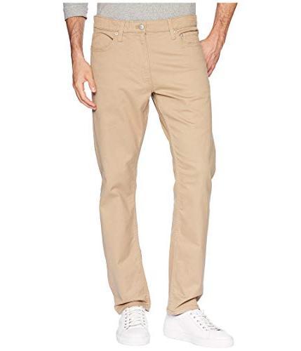 5 pocket stretch cotton twill