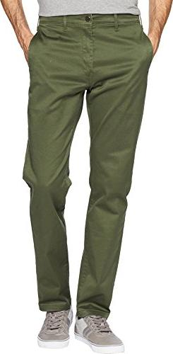 Levi's Men's 511 Slim Chino Pant, Lodge Green/Cruz Twill/Str