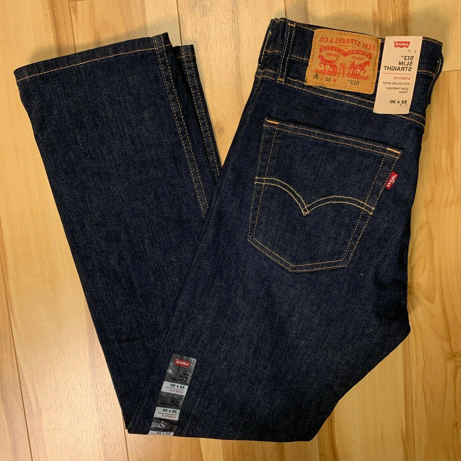 513 slim straight fit jean