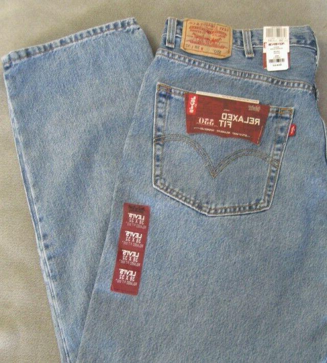 Levi's Men's 550 Relaxed-fit Jean, Medium Stonewash, 38X32