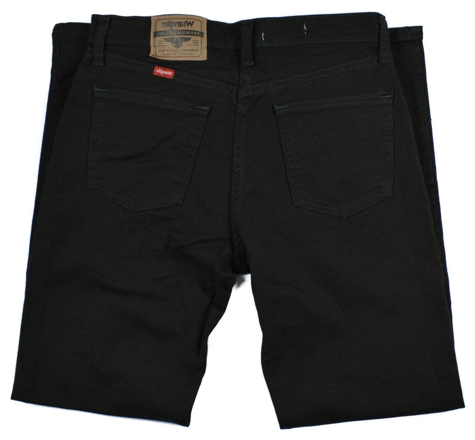Wrangler Men's Black Leg