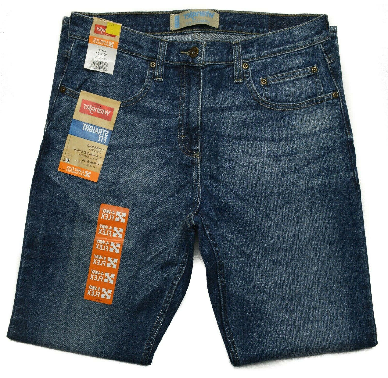 Wrangler #9115 NEW Straight Fit Opening Jeans