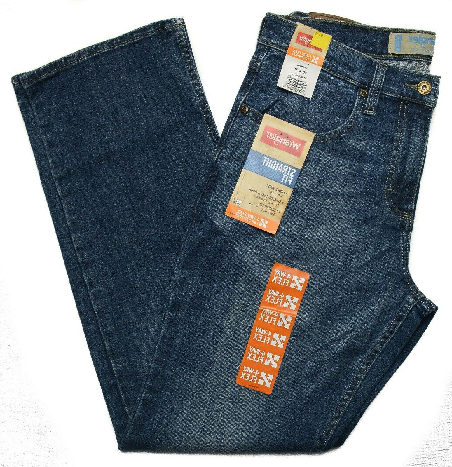 Wrangler #9115 Men's Straight Straight Leg Opening Jeans