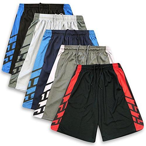 American Legend Mens Active Athletic Performance Shorts - Se