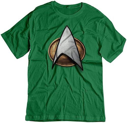 BSW Men's Star Trek Starfleet Comm. Pin Next Generation TNG