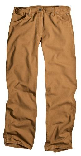 Dickies Men's Relaxed Fit Duck Jean, Duck,