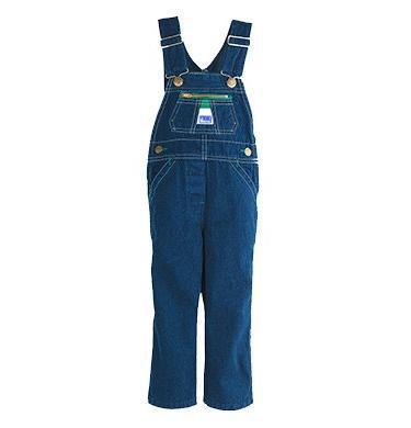 Liberty Baby Boys Infant Denim Bib Overall, Rigid Blue, 18
