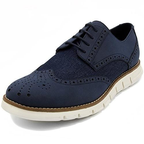 Wingdeck Oxford Shoe Fashion Sneaker Navy