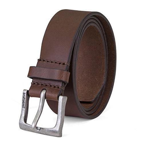 Timberland Men/'s Classic Leather Jean Belt