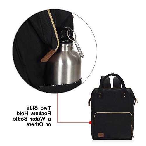 Veegul Multipurpose School Lightweight Bag 18L Black