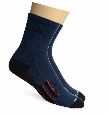 adidas Men's Climalite X Ii 2-Pack Mid-Crew Socks, Denim Blu