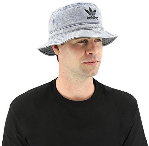 adidas Originals Denim Hat, Navy/Black, Size