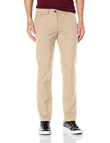 adidas Originals Men's Skateboarding 5 Pocket Twill Pant, Ca