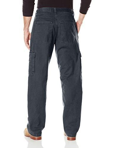 Twill Relaxed Fit Cargo Pant, Ripstop, 36 x 32