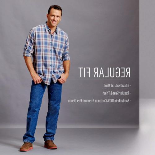 Wrangler Authentics 5-Pocket Jean,Twilight Flex,30x32