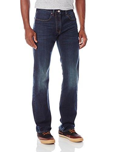 authentics vintage straight fit jean