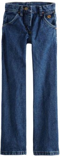 Wrangler Big Boys' Original Cowboy Cut George Strait Jeans,H
