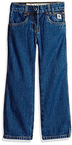 Cinch Boys' Little Original Fit Regular Jean, Medium Stone w