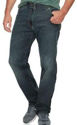 LEE Men's Big-Tall Modern Series Extreme Motion Relaxed Fit