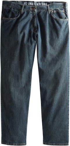 Nautica Men's Big-Tall Relaxed Fit Jean, Atlantic Medium, 46