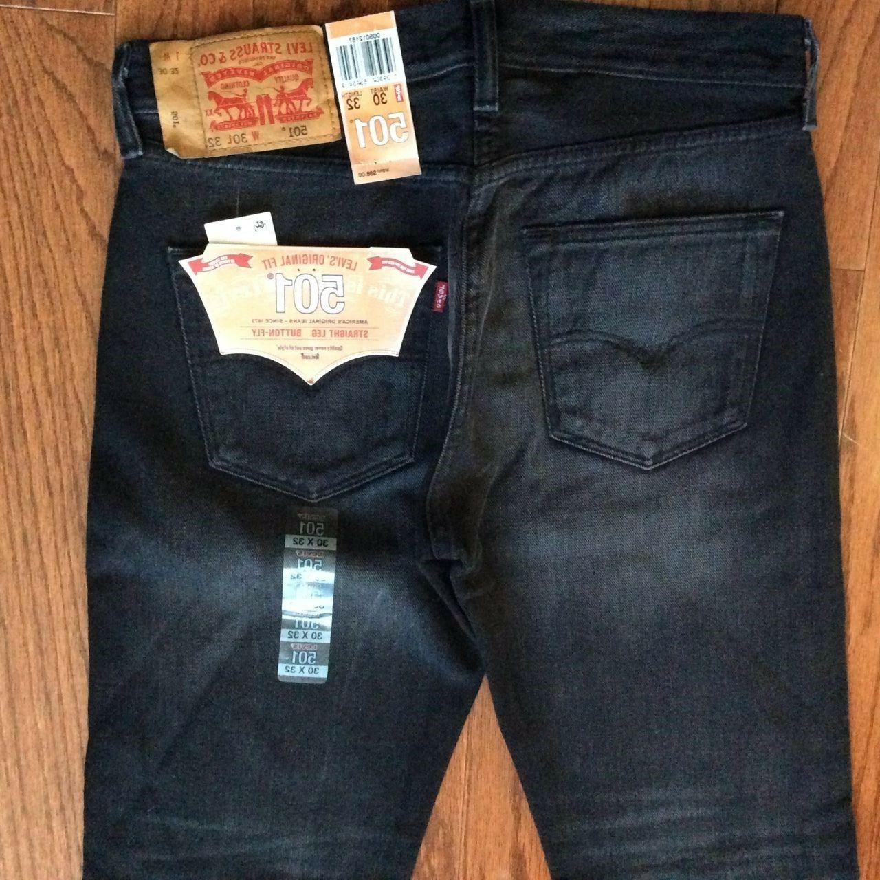 Levi's Men's 32X34 Jeans Fit Straight Fly-2167