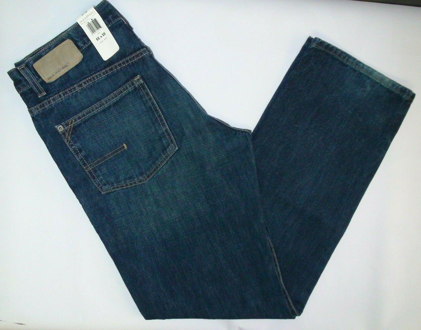 CALVIN KLEIN JEANS BNWT MENS RELAXED FIT JEANS sz 32 X 32 Os