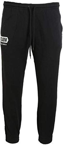 Volcom Booker Fleece Pants Black Mens Sz XL