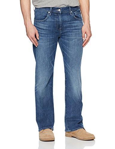 7 For All Mankind Men's Brett Slim Bootcut Jean, Savage 33