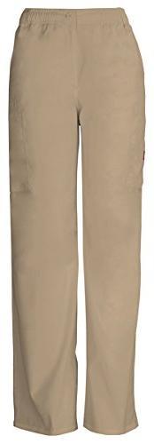 Dickies Men's Button Closure Zip Fly Pull-On Pant_Dark Khaki