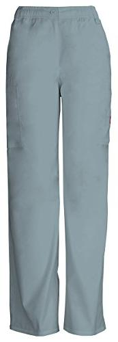 Dickies Men's Button Closure Zip Fly Pull-On Pant_Grey_X-Lar