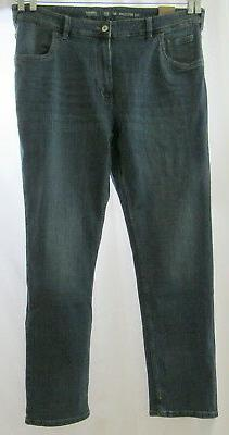 """C & A Men's Stretch Big and Tall Jeans, 34"""" Long, Waist 44"""