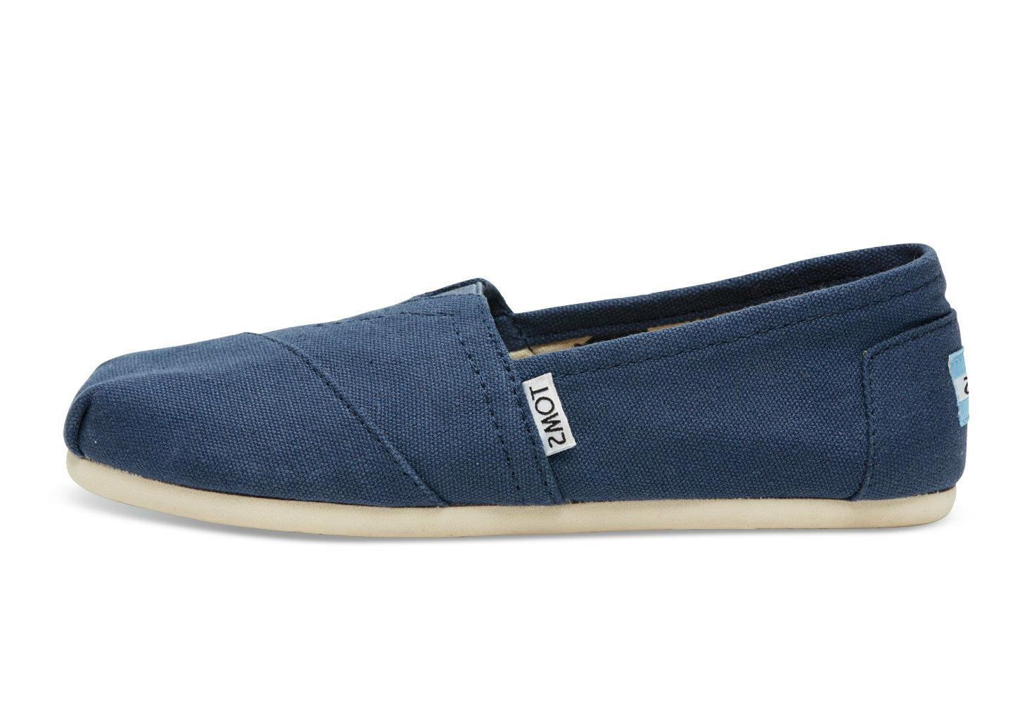 Men's Toms 'Classic' Canvas Slip-On, Size 9.5 M - Blue