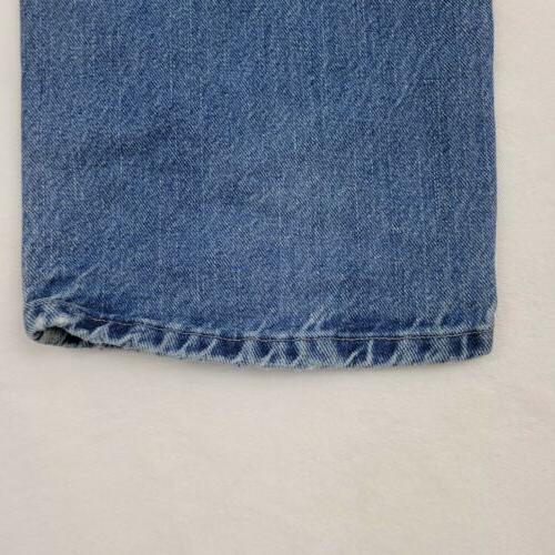 Dickies 36 X 30 Mid Rise Med Blue