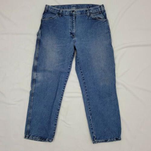 Dickies Carpenter 36 Rise Wash Cotton Blue