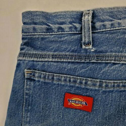 Dickies Carpenter Jeans 36 X 30 Rise Blue W641084
