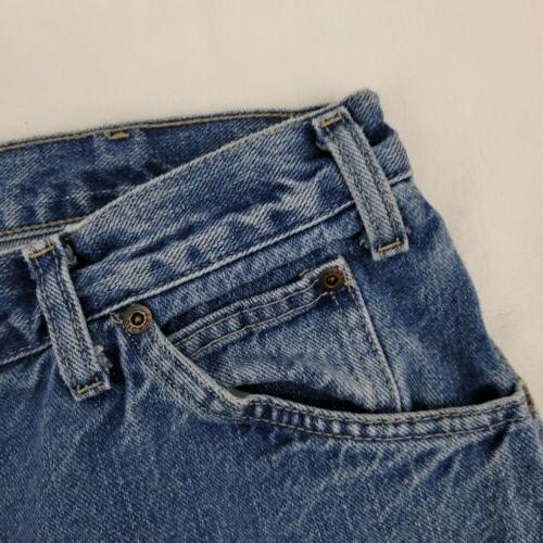 Dickies Jeans Mens 36 Rise Wash Blue W641084