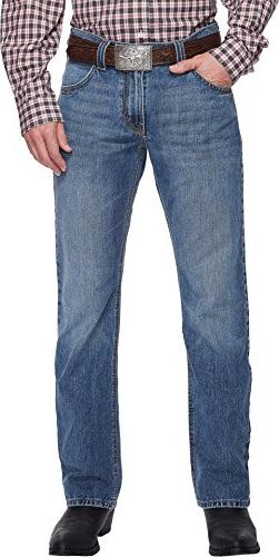 Cinch Men's Carter 2.0 Light Stonewash Relaxed Fit Jeans Boo