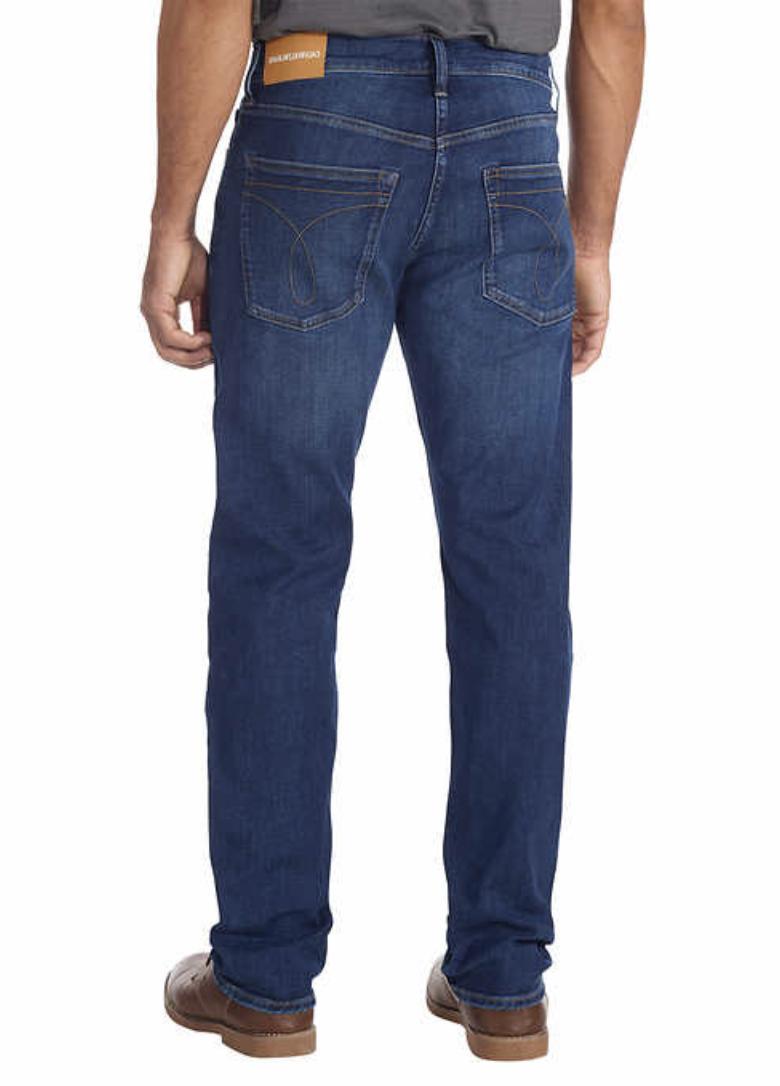 NEW Calvin Jeans Men's Blue Grey 34x32