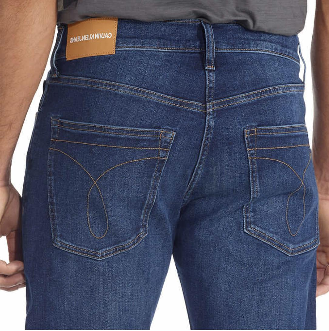 NWOT Calvin Men's Straight Jean, CKJ035, Aude x