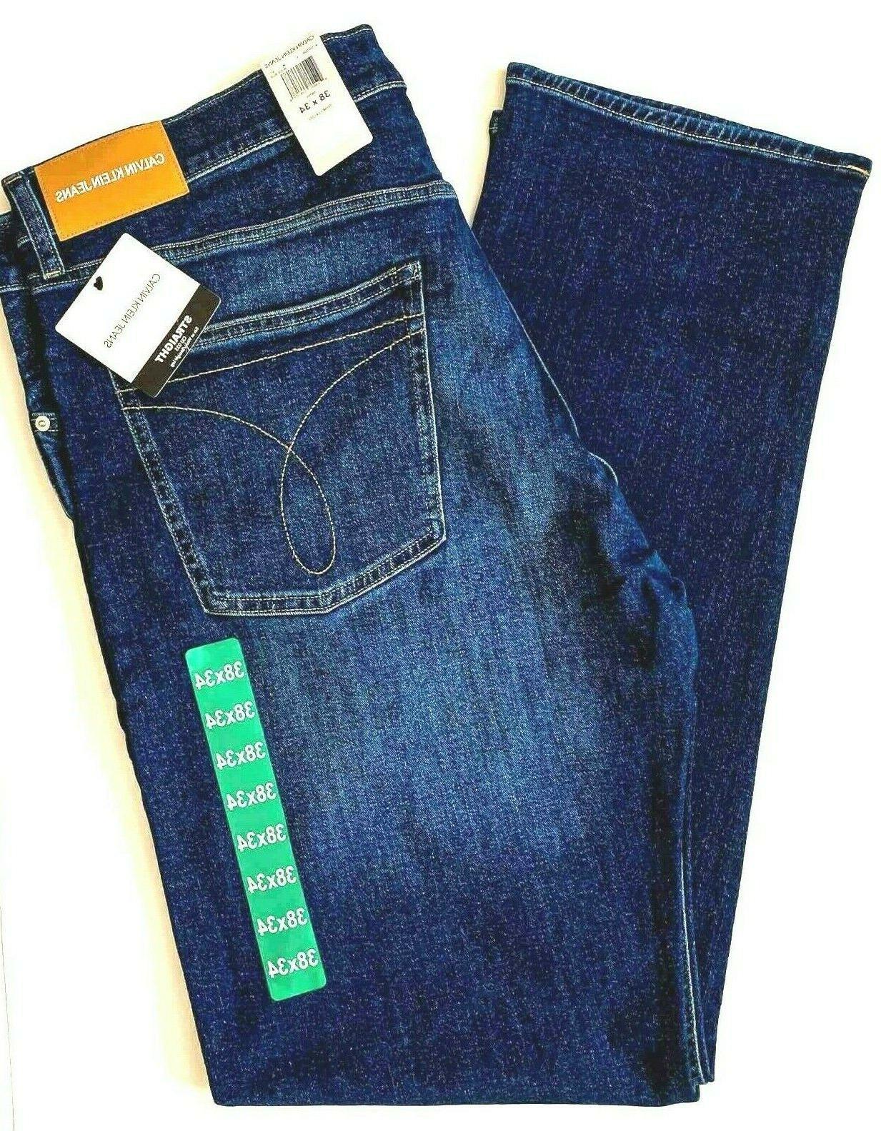 ckj 035 men s 34x32 jeans straight