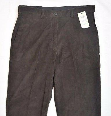 HAGGAR CLASSIC JEANS COLOR BROWN NEW MSRP