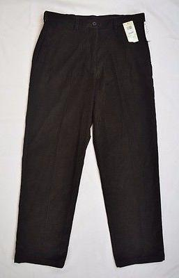 classic fit jeans color brown mens new