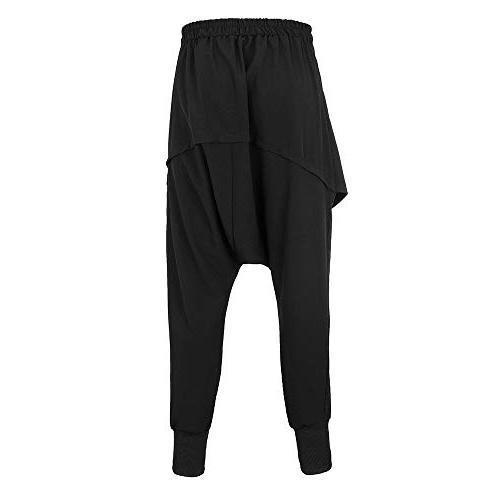 POHOK Clearance Hip-hop Color Trousers Leisure Pants