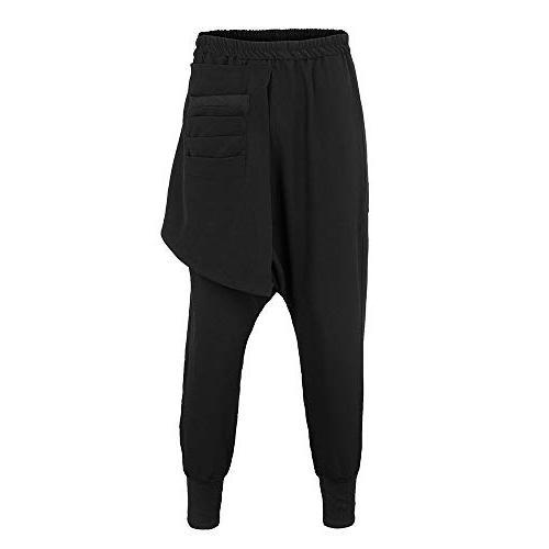 POHOK Clearance Sport Hip-hop Pants Color Leisure Haren Pants