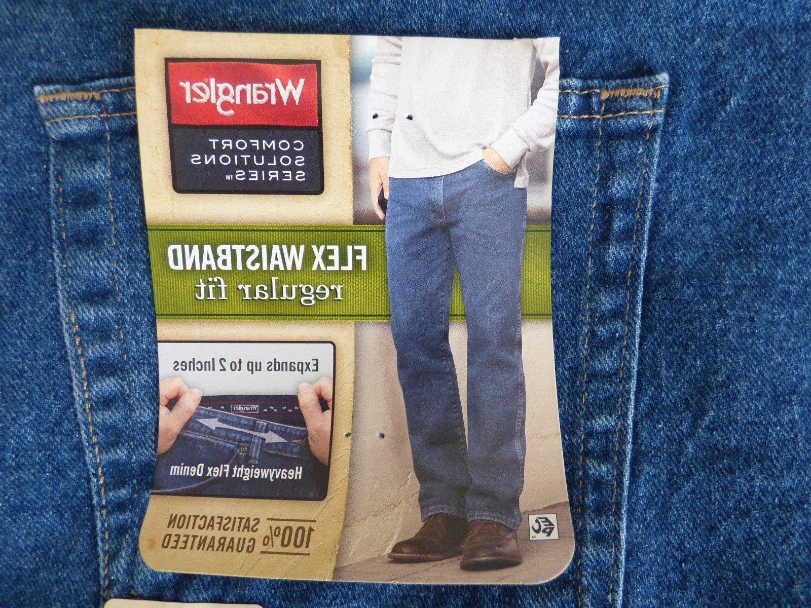 Wrangler Comfort Waistband Regular Fit Men's Tall