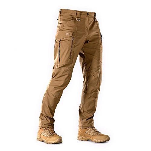 Tactical Pants Men with Cargo Pockets Conquistador Flex