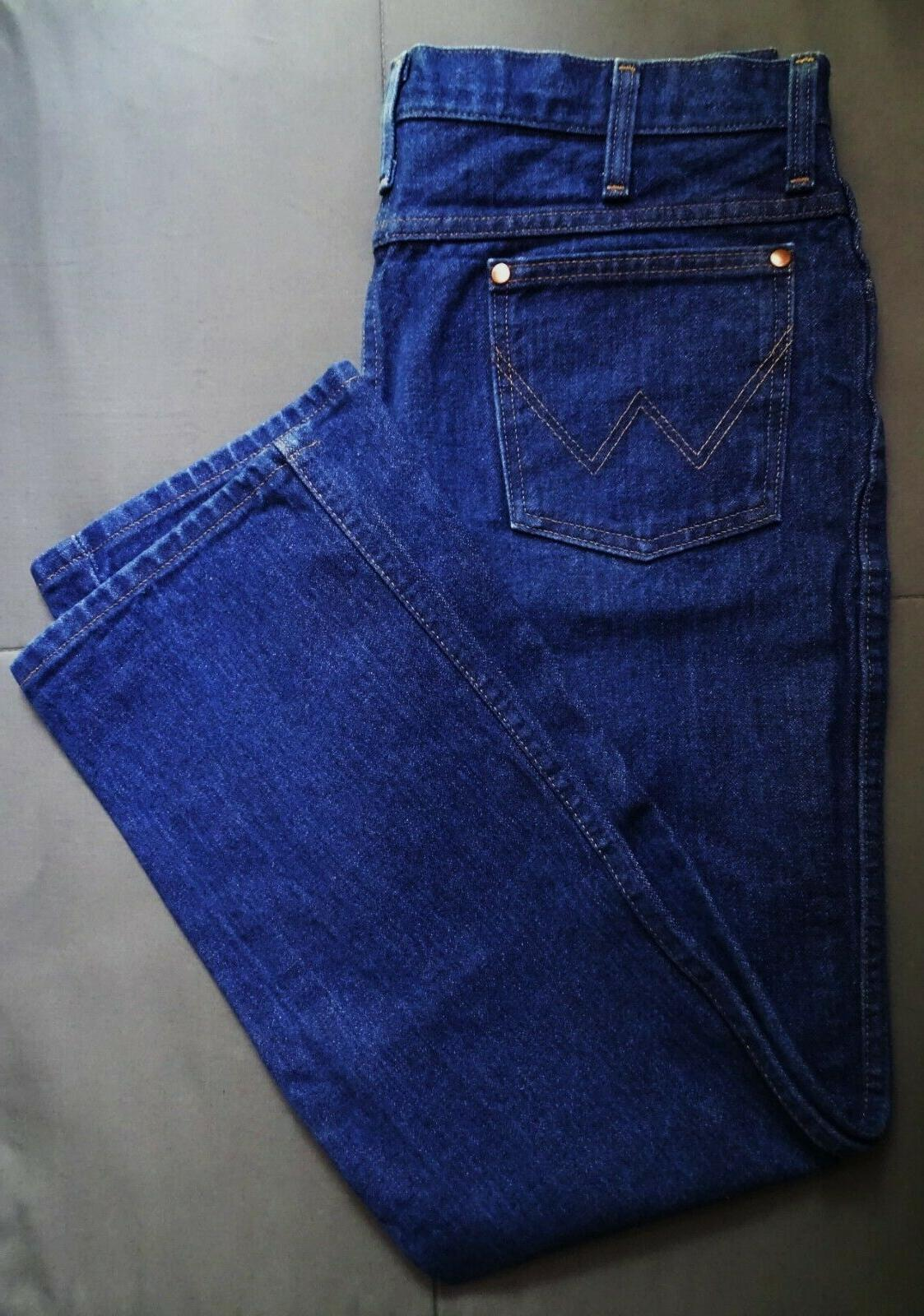Wrangler Men's Cowboy Cut Slim Fit Jean, Prewashed Indigo, 3