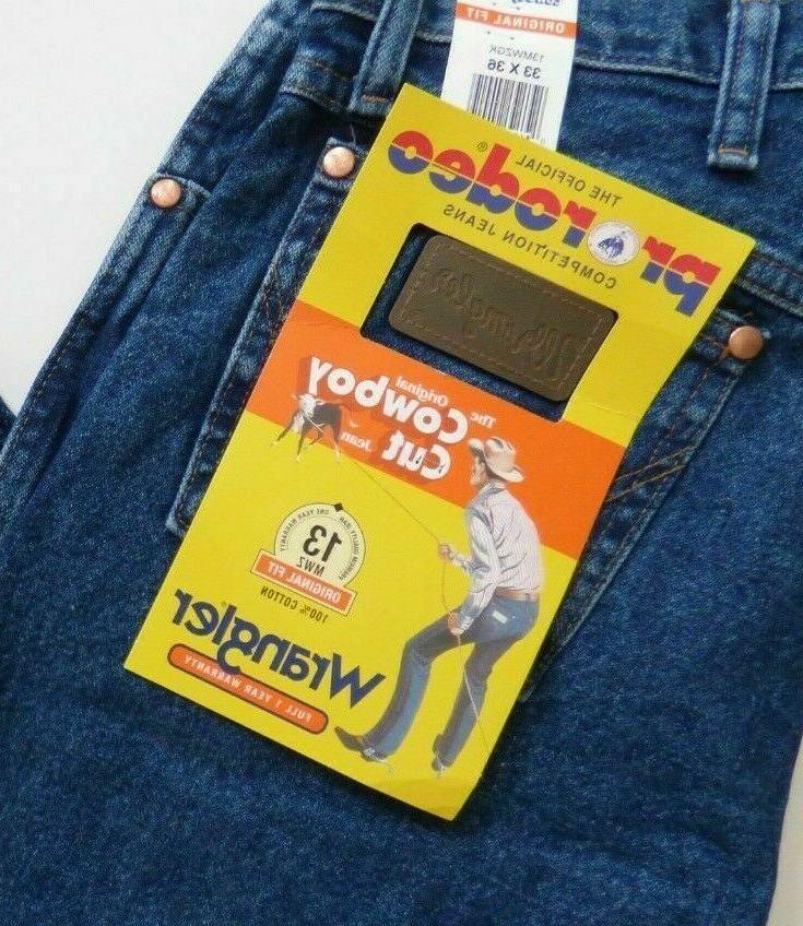Wrangler Cowboy Cut Fit Jeans Men's